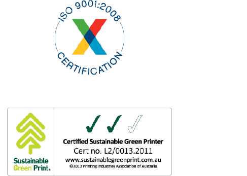 Certified Sustainable Green Printing